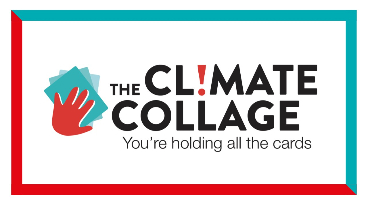 Logo for The Climate Collage