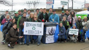 St Patrick's Day Dallas Sierra Club Recycling Team