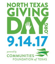 North Texas Giving Day 9.14.17, Communities Foundation of Texas