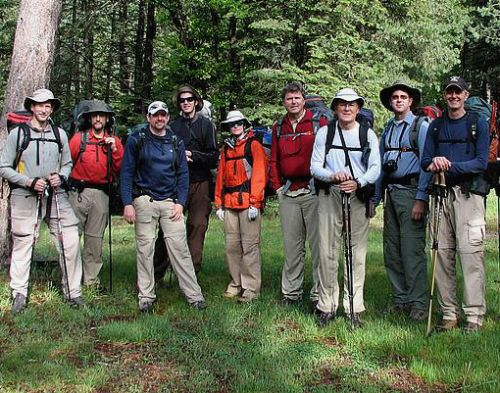 Sierra Club Hikers