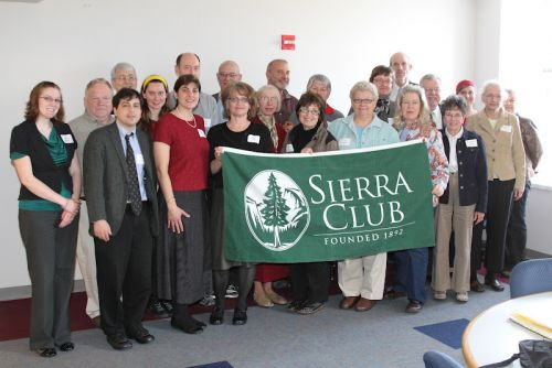 A group of Sierra Club members
